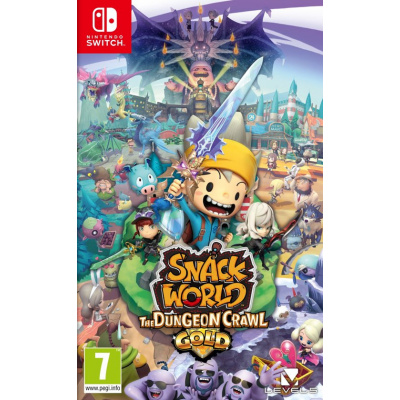 Foto van Snack World: The Dungeon Crawl - Gold SWITCH