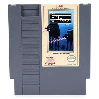 Foto van Star Wars Empire Strikes Back (Losse Cartridge) NES