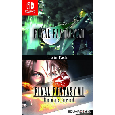 Final Fantasy VII & Final Fantasy VIII Twin Pack (Import) SWITCH