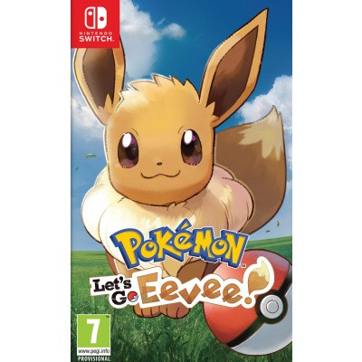 Pokemon: Let's Go, Eevee SWITCH