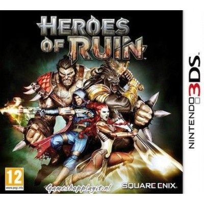 Foto van Heroes Of Ruin 3DS