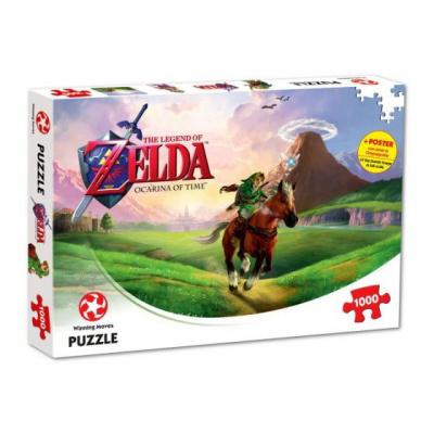 Foto van The Legend of Zelda - Ocarina of Time Puzzle 1000pc PUZZEL