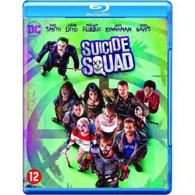 Foto van Suicide Squad BLU-RAY MOVIE