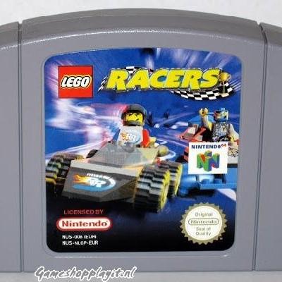 Foto van Lego Racers (Losse Cassette) N64