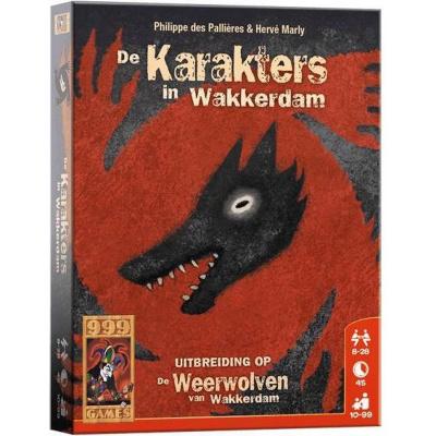 Foto van Weerwolven Uitbreiding: De karakters in Wakkerdam BORDSPELLEN