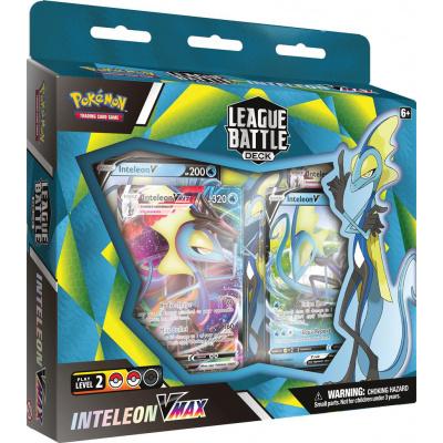 TCG Pokémon League Battle Deck Inteleon VMAX POKEMON