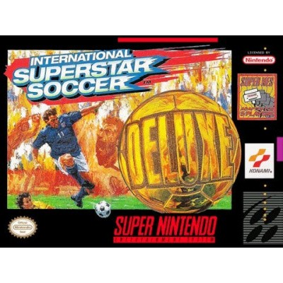 Foto van International Superstar Soccer Deluxe SNES