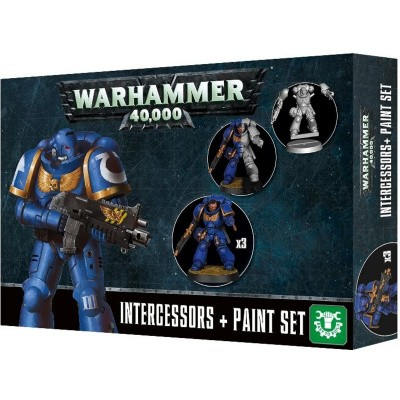 Intercessors + Paint Set Warhammer 40k