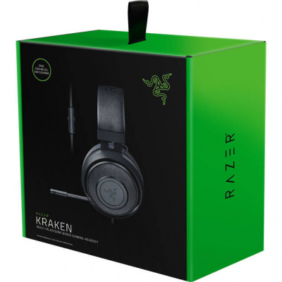 Foto van Razer Kraken 7.1 Wired Gaming Headset (PS4/PC/MAC/Xbox One/Switch/Mobile) PS4