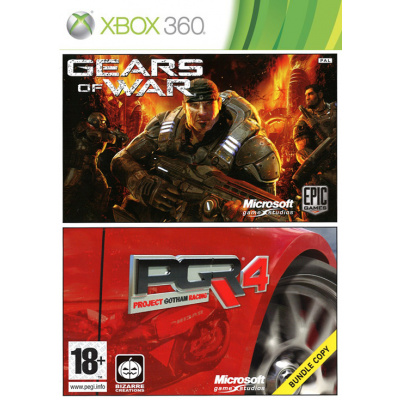 Gears Of War + Project Gotham Racing 4 XBOX 360