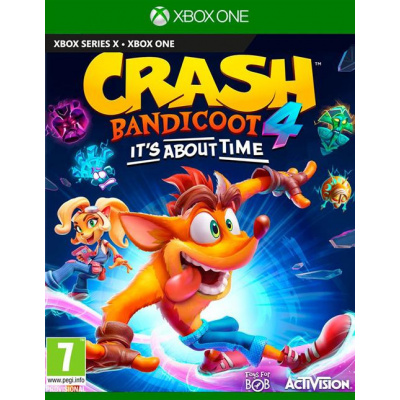 Foto van Crash Bandicoot 4: It's About Time XBOX ONE