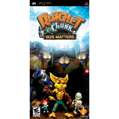 Ratchet & Clank Size Matters PSP