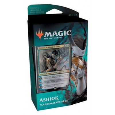 Foto van TCG Magic The Gathering Theros Beyond Death Planeswalker Deck - Ashiok MAGIC THE GATHERING