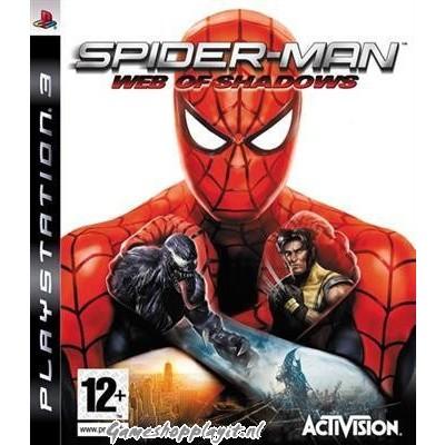 Foto van Spider-Man Web Of Shadows PS3