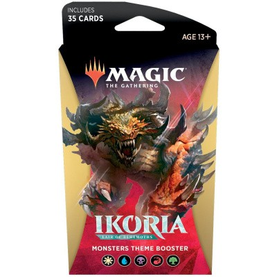 TCG Magic The Gathering Ikoria Lair Of Behemoths Monsters Theme Booster MAGIC THE GATHERING