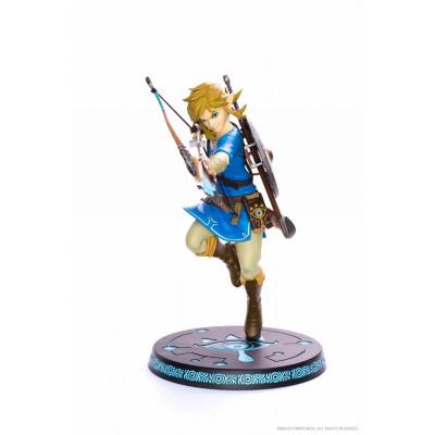 Zelda: Breath of the Wild - Link 25 cm - Statue First 4 Figures MERCHANDISE