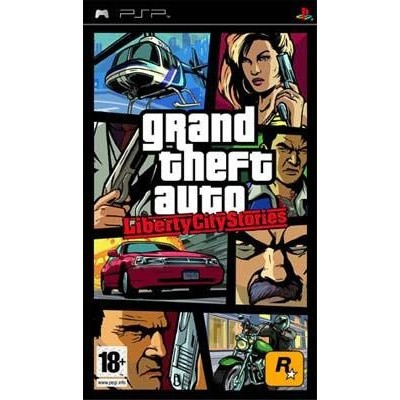 Foto van Grand Theft Auto Liberty City Stories (Gta) PSP