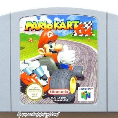 Foto van Mario Kart 64 (Losse Cassette) N64