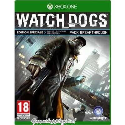 Foto van Watchdogs Special Edition XBOX ONE