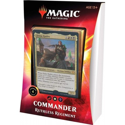 TCG Magic The Gathering Ikoria Lair Of Behemoths Commader - Ruthless Regiment MAGIC THE GATHERING