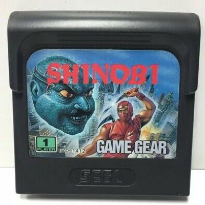 Foto van shinobi (Losse Cartridge) Game Gear