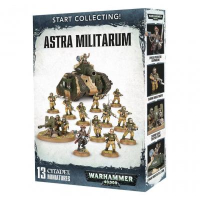 Foto van Start Collecting! Astra Militarum WARHAMMER 40K