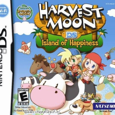 Harvest Moon Ds Island Of Hapiness NDS