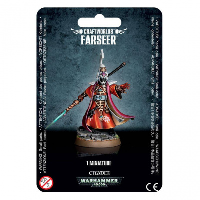 Foto van Eldar Farseer Warhammer 40k