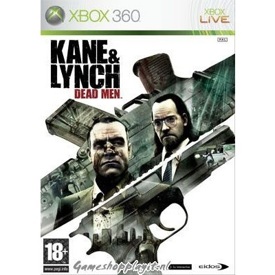 Kane & Lynch Dead Men XBOX 360