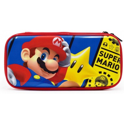 Foto van Hori Premium Vault Case - Mario SWITCH