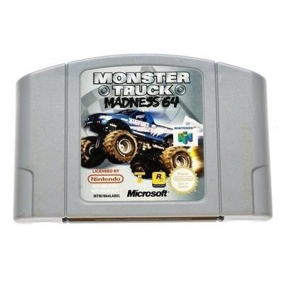 Foto van Monster Truck Madness 64 (Cartridge Only) N64