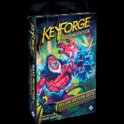 Keyforge Mass Mutation Deluxe Deck BORDSPELLEN