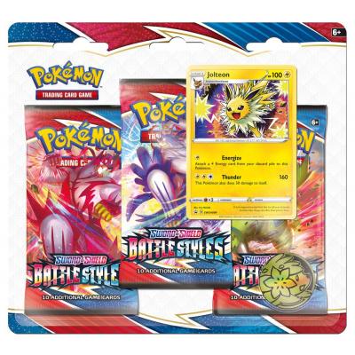 TCG Pokémon Sword & Shield Battle Styles Booster Packs - Jolteon POKEMON