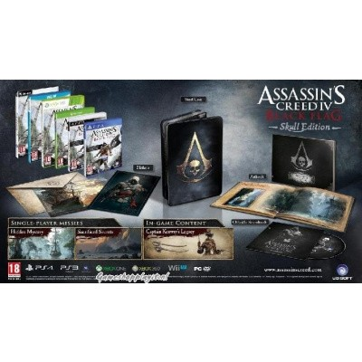 Foto van Assassin's Creed IV Black Flag Skull Edition XBOX 360