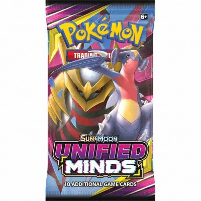 TCG Booster Pack Pokémon Sun & Moon Unified Minds POKEMON