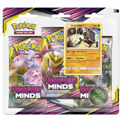 TCG Booster Packs Pokémon Sun & Moon Unified Minds - Stakataka POKEMON