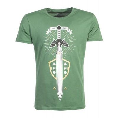 Zelda - The Master Sword Men's T-shirt - XL MERCHANDISE