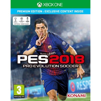 Foto van Pro Evolution Soccer 2018 (Pes 2018) Premium Edition XBOX ONE