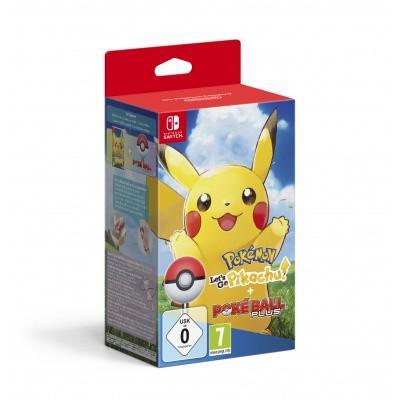 Pokemon Let's Go Pikachu! + Pokeball Plus SWITCH