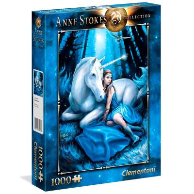 Foto van Anne Stokes Blue Moon Puzzle 1000pc PUZZEL
