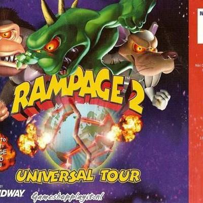 Foto van Rampage 2 Universal Tour N64