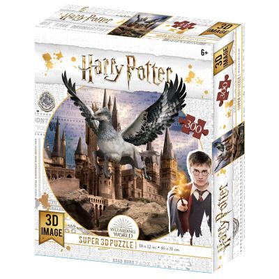 Harry Potter: Buckbeak and Hogwarts Prime 3D puzzle 300pcs PUZZEL
