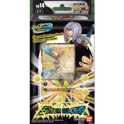 TCG Dragon Ball SCG Saiyan Wonder Starter Deck - Unison Warrior Series DRAGON BALL