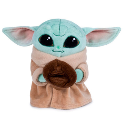 Foto van Star Wars: The Mandalorian - Baby Yoda with Cup Pluche 18cm PLUCHE