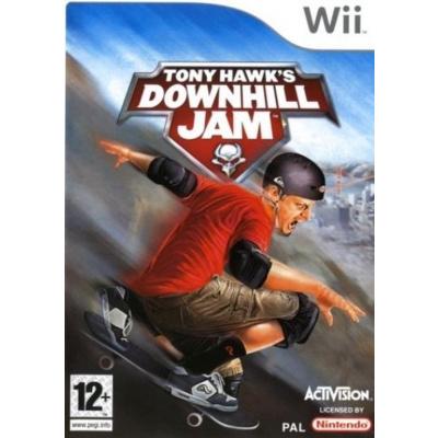Tony Hawk's Downhill Jam WII