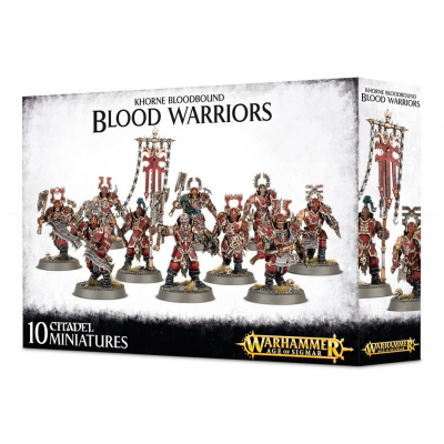 Khorne Bloodbound Blood Warriors WARHAMMER AOS