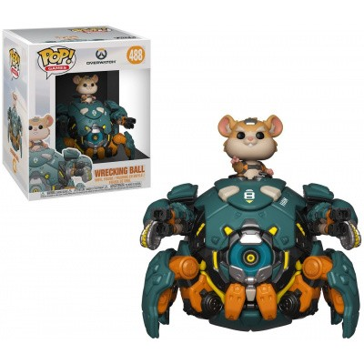 Pop! Games: Overwatch - Wrecking Ball FUNKO