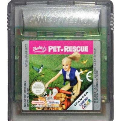 Foto van Barbie Pet Rescue (Cartridge Only) GBC