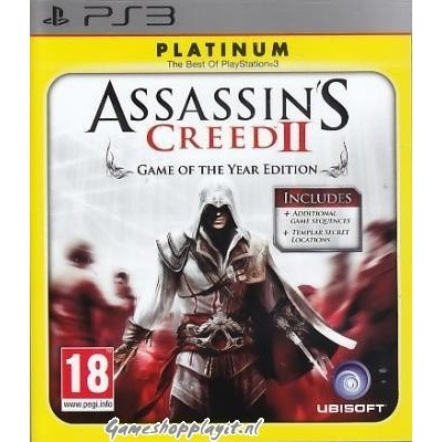 Assassin's Creed II Goty PS3