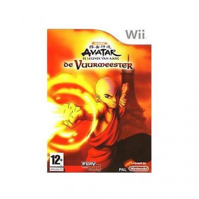 Avatar De Legende Van Aang. De Vuur Meester WII